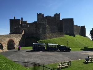 Dover Castle - it's huge, with history all over the place!