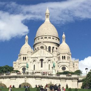 The beautiful Sacre Coeur (Sacred Heart) basilica